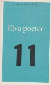 Anthology: 'Elva poeter', published 1998.