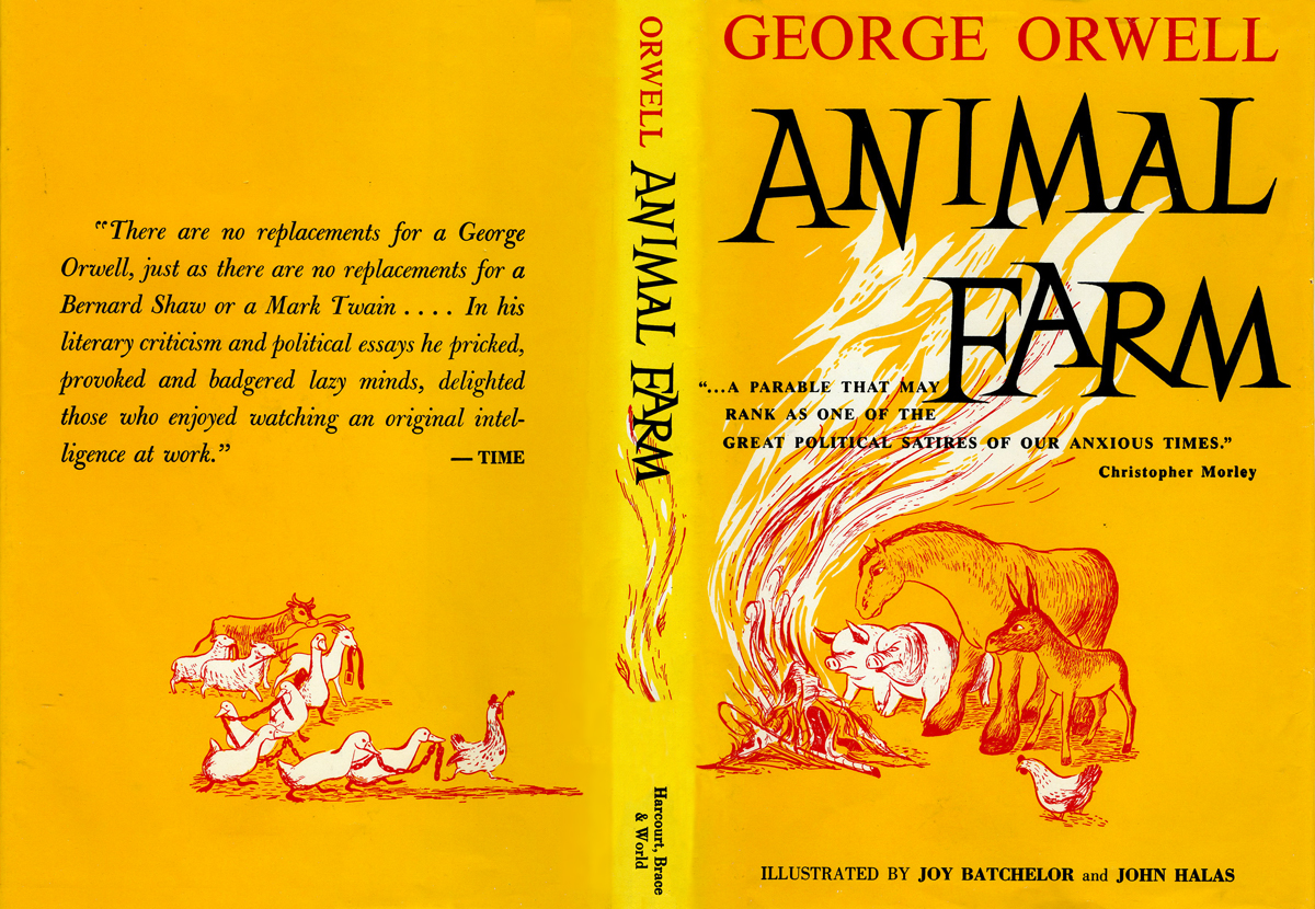 animal farm the book essay Animal farm by george orwell - analytical essay the whole doc is available only for registered users open doc book: animal farm pages: 10 words: 2497 views: 1857 print this essay download: pdf, docx, epub, txt get full essay.