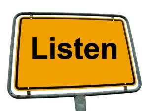 listen-road-sign
