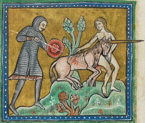 Unicorn_hunt_-_British_Library_Royal_12_F_xiii_f10v_(detail)