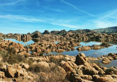 Watson Lake, AZ - Photo by Becca B. Jenkins